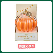 ☆韓国スタバ限定☆ Halloween pumpkin candle