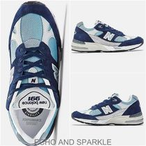 【英国発】New Balance 991 英国製 ☆Navy with Pale Blue