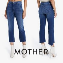 MOTHER(マザー) デニム・ジーパン 即発★MOTHER★THE INSIDER CROP STEP FRAY 11157-686-SSY