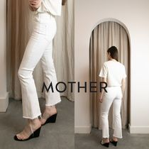 MOTHER(マザー) パンツ 即発★MOTHER★THE HUSTLER ANKLE FRAY IVORY 1117-840-IVY
