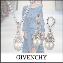 ◆GIVENCHY ジバンシィ◆グラスパール ネックレス&ピアスセット
