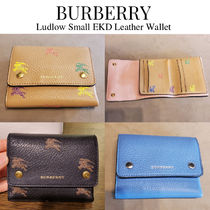 BURBERRY★Ludlow Small EKD Wallet ミニ 騎士 三つ折り財布