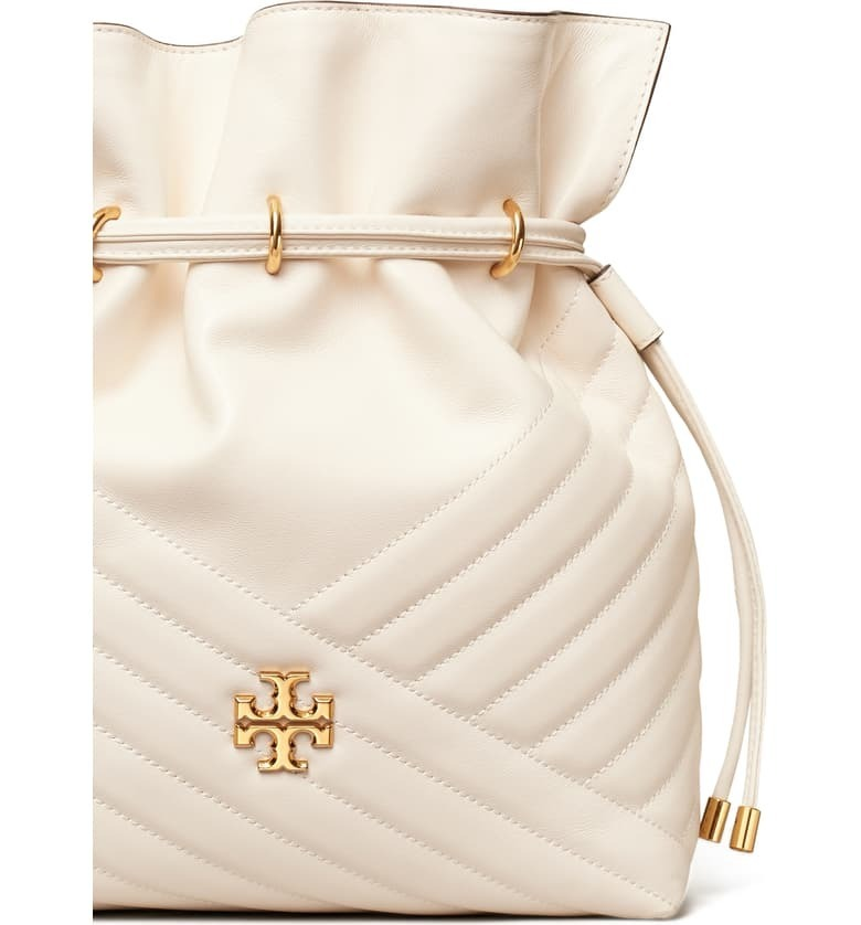 Tory Burch(トリーバーチ) Kira Chevron Quilted Leather Bucket (Tory Burch/ショルダーバッグ・ポシェット) 60238989