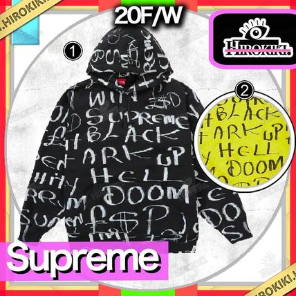 20FW /Supreme Black Ark Hooded Sweatshirt ブラック アーク