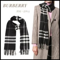 *BURBERRY*Giant Check Cashmere Scarf 関税/送料込