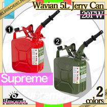 20FW /Supreme Wavian 5L Jerry Can ウェイビアン ジェリー ロゴ