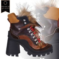 Dsquared2 Multicolor Leather Boots