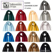 ★ Johnstons of Elgin ★ CLASSIC カシミヤスカーフ☆17colors
