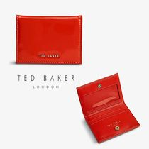 【TED BAKER】Eellsa leather パスケース カードケース レッド