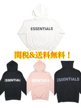 FW19 国内発送 FEAR OF GOD ESSENTIALS 3M logo Pullover Hoodie