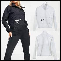 Nike Running overhead jacket with swoosh logo