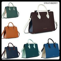【STRATHBERRY】メーガン妃愛用!MIDI TOTE トートバッグ 6色
