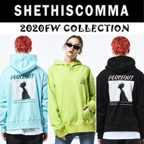 20FW◆SHETHISCOMMA◆P-OUT HD T(3色)◆ユニセックス
