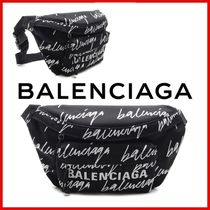 ◆BALENCIAGA◆Logo printed belt bag◆正規品◆