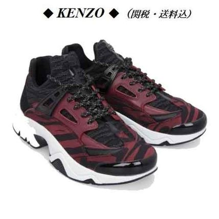【KENZO】Sonic 'Moire Tiger' Sneakers 関税・送料込