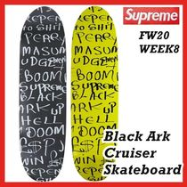 Supreme Black Ark Cruiser Deck BLACK YELLOW FW AW 20 WEEK 8
