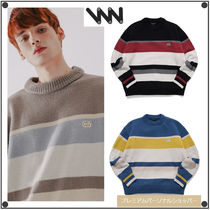WV PROJECTのBread round Knit 全4色