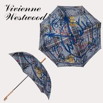 【Vivienne Westwood】即対応 タータンプリント 一枚張り長傘