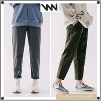WV PROJECTのPlain cotton banding pants 全6色
