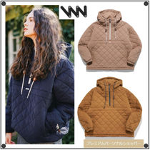 WV PROJECTのBumby quilted Anorak hoodie 全4色