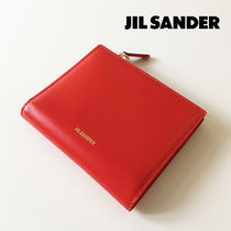 JIL SANDER☆【最後の1点】COMPACT WALLET コンパクト財布 / red