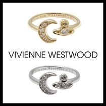 【VIVIENNE WESTWOOD】White Dorina Small Ring 2色 オーブ