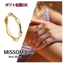 UK発《MISSOMA》GOLD MOLTEN リング