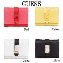 GUESS*NEREA SMALL TRIFOLD WALLET*折りたたみ財布・ロゴ♪