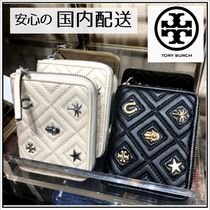 Tory Burch☆FLEMING CHARM MEDIUM WALLET 二つ折財布☆送料込み