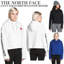 THE NORTH FACE★WOMEN'S L/S FT LOGO CROP クロップ フーディ