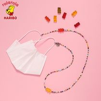 【rolarola×HARIBO】20fw MASK NECKLACE マスクストラップ