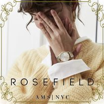 【ROSEFIELD 芸能人愛用】Silver & leather strap Gift Set Box