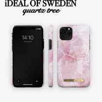 iDEAL OF SWEDEN◇iPhoneケース各種 PILION PINK MARBLE