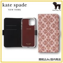 【Kate Spade】spade flower iphone magnetic case◆国内発送◆