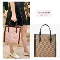 【kate spade】medium north south tote