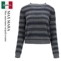 Max mara teano striped sweater