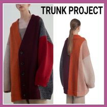 人気ブランド★TRUNK PROJECT★Color Stripe Cardigan Jacket