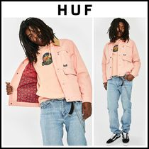 【最新作】人気!! ☆ HUF ☆ REMINGTON CANVAS JACKET