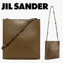 AW20/21◆JIL SANDER◆Leather shoulder bag Green