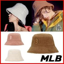 ◆MLB Korea◆UNISEX◆MLB CREAM FLEECE HAT◆正規品◆