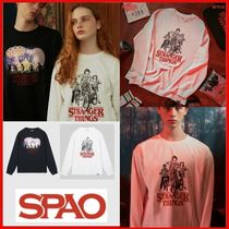 ◆SPAO◆SPAO x STRANGER THINGS T Shirts 2Color◆正規品◆
