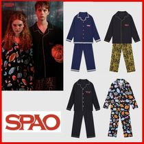 ◆SPAO◆UNISEX◆SPAOxSTRANGER THINGSパジャマセット◆正規品◆