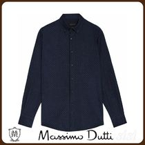 MassimoDutti♪SLIM FIT NEEDLECORD SHIRT