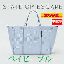 【State of Escape】Escape Tote/ベイビーブルー/追跡便