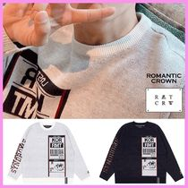 ROMANTIC CROWN SEVENTEEN エクスプス着用 LUGGAGE TAG KNITWEAR