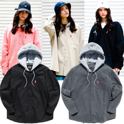 perstep ブラウス・シャツ WV PROJECT★ secondブランドperstep hoodie shirts SMLS4092