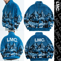 ★20-21FW新作★LMC★LMC SNOW VILLAGE FLEECE JACKET_ブルー