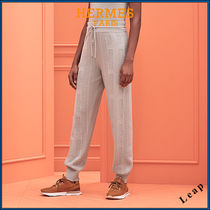 "【HERMES】""Voyage"" knit pants エルメス パンツ☆"