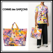 Comme Des Garcons shirt☆フローラル トートバッグ
