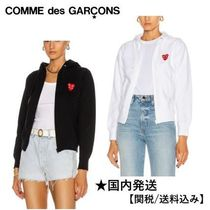 PLAY COMME des GARCONS(プレイコムデギャルソン) パーカー・フーディ 2カラー【関送込】◆COMME des GARCONS◆ジップアップパーカー